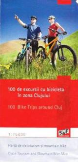 100 de excursii cu bicicleta în zona Clujului
