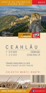 Hartă de drumeție - Ceahlău