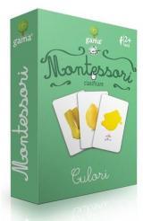 Cărți de joc Montessori: Clasificare. Culori