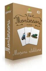 Cărți de joc Montessori: Vocabular. Mașini utilitare