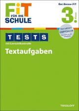 Fit für die Schule: Tests mit Lernzielkontrolle. Textaufgaben 3. Klasse
