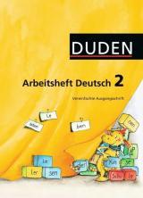Duden Arbeitsheft Deutsch 2. Vereinfachte Ausgangsschrift