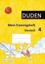 Duden Mein Trainingsheft Deutsch 4