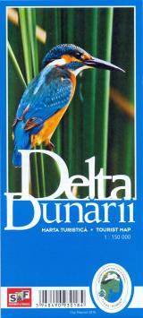 Hartă turistică Delta Dunării