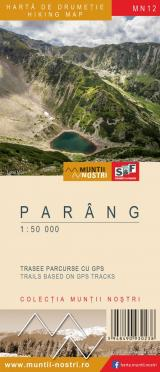 Hartă de drumeție - Parâng