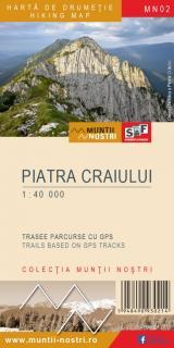 Hartă de drumeție - Piatra Craiului