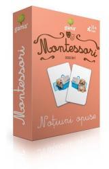 Cărți de joc Montessori: Asocieri. Noțiuni opuse