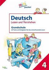 Deutsch - Lesen und Verstehen