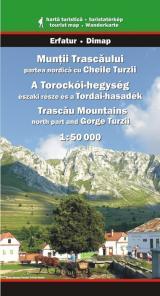 Munţii Trascăului - partea nordică cu Cheile Turzii