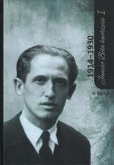 Jancsó Béla levelezése I.