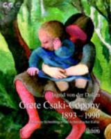 Grete Csaki-Copony. 1893-1990
