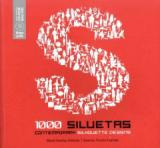 1000 Contemporary Silhouette Designs + CD
