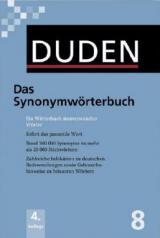 Duden 08. Das Synonymwörterbuch