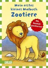 Mein erstes kleines Malbuch: Zootiere (Miniformat)