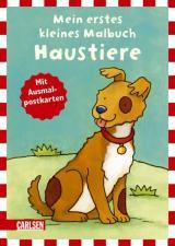 Mein erstes kleines Malbuch: Haustiere (Miniformat)