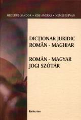 Dicţionar juridic român-maghiar - Román-magyar jogi szótár
