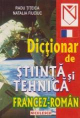 Dicţionar de ştiinţă şi tehnică francez-român