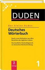Duden. Der kleine Duden 01. Deutsches Wörterbuch