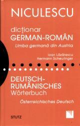 Dicţionar german-român. Limba germană din Austria