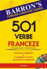 501 verbe franceze + CD