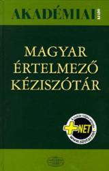 Magyar értelmező kéziszótár + NET