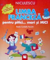 Limba franceză pentru pitici... mari şi MICI: cu autocolante reutilizabile