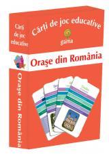 Cărţi de joc educative: Oraşe din România