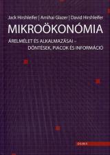 Mikroökonómia - Árelmélet és alkalmazásai