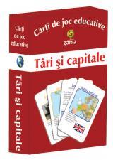 Cărţi de joc educative: Ţări şi capitale