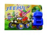 Jeepul. Carte cu jucărie