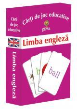 Cărţi de joc educative: Limba engleză