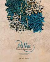 Rilke, cornul abundenţei