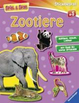 Stickerspaß: Zootiere