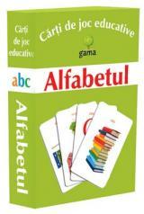 Cărţi de joc educative: Alfabetul