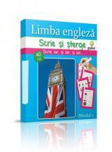 Scrie şi şterge: Limba engleză - nivelul 1